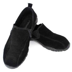 TEVA Slip On Black Corduroy Loafers